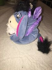 DISNEY MINI BEAN BAG TOY SUGAR PLUM FAIRY EEYORE 7""