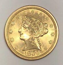 1854-O $2.50 Liberty Head Gold, Quarter Eagle