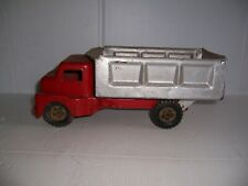 VINTAGE STRUCTO? PRESSED STEEL TOY DUMP TRUCK