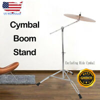 Cymbal Boom Stand Adjustable Drum Hardware Arm Mount Holder Adapter Percussion