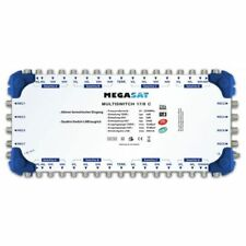 Megasat multi-interruptor 17/8C Cascada Multi DiSEqC Distribuidor ampliable qu