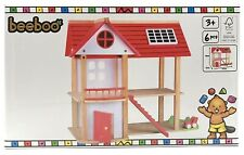 Beeboo Holzspielzeug Puppenhaus Eco Villa aus Holz