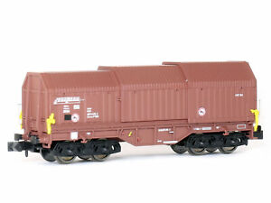 MU N-G30025 - Güterwagen Teleskophaubenwagen Shimmns 708 DR Ep.V - Spur N - NEU