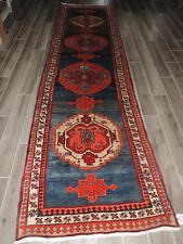 3x13ft. Handknotted Persian Wool Runner