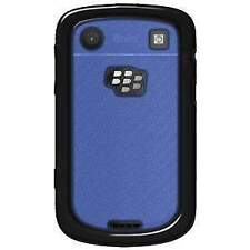 NEW BLACK BLUE AQUAFLEX TPU SOFT/HARD SKIN CASE COVER FOR BLACKBERRY BOLD 9900