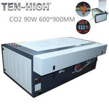TEN-HIGH Desktop Standard CO2 90W 600*900MM USB Laser Engraving Cutting Machine