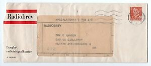 DENMARK: Radio letter Lyngby 1953, contents.