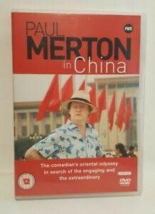PAUL MERTON IN CHINA (2008) DVD COMPLETE 2 DISC  TV SERIES, UK R2 DVD SET