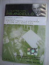 DVD A TEATRO CON PIRANDELLO -  CAMERA D'AFFITTO