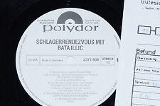 BATA ILLIC -Schlagerrendezvous mit...- LP 1974 Polydor Promo Archiv-Copy mint