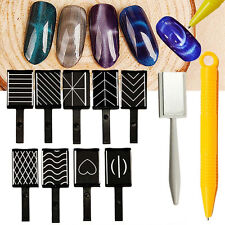 Magnetic gel and shellac polish ebay magnet pen nail art polish uv gel drawing vertical 3d magnet stick cat eye paint prinsesfo Gallery