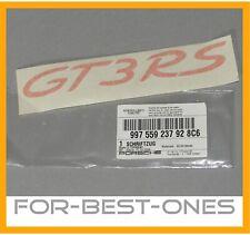 NEU NOS Porsche 911 GT3RS GT3 RS Schriftzug Zeichen Emblem Aufkleber lid crest