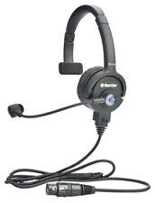 Clear-Com CC-110-X4 Lightweight Single-Ear Headset 4-Pin XLRF XCaseProAudio