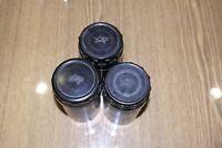 USSR lens BOX Bakelite plastic KOMZ logo for lens Ø60mm x L115mm Jupiter 11