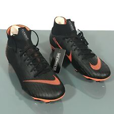 Nike Mercurial Superfly 6 Pro FG Soccer Cleats Orange/Black AH7368-081 Size 10