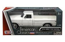 1979 Ford F-150 Pickup Truck 1:24 Diecast Model Toy White - 79346AC-W *