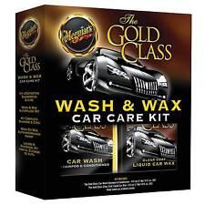 Meguiar's Gold Class Wash & Cera Car Care Kit-Cera, Champú & Acondicionador