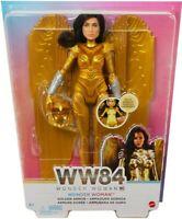 Mattel DC Wonder Woman WW84 1984 Movie Wonder Woman Doll Golden Armor