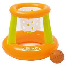 BASKET CERCHIO galleggiante piscina palla gioco acqua Estate Giocattoli Bambini Adulti attività