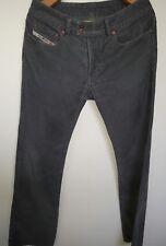 Diesel.fine cord straight leg trouser W30 L31 button fly RN 93243