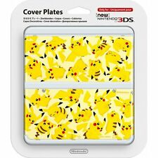 Official Nintendo Cover Plates Pikachu Pokemon for NEW 3DS *NEW!* + Warranty!