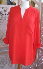 Debenhams Orange Tunic  Blouse Size 18