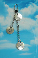 LiVe YoUR DReAM NeVeR GiVe Up ! LiVe LaUGH LoVe KeYCHAiN HaNDBaG CHaRM