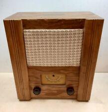 More details for ww2 utility set wartime civilian receiver valve radio 1940s vintage murphy 1944