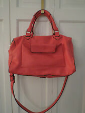 Cute Dimoni Coral Pebbled Leather Satchel/Shoulder/Cross Body – NWT - $260+
