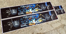 Tamiya 1/14 Escala Camión' Transformers' temática Reefer Trailer Stickers Calcomanías Set