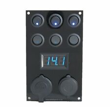 Campervan  Switch Panel / Voltmeter/12V USB Panel Campervan Bongo T4 T5