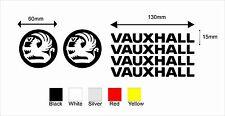 Vauxhall Logo Sticker Decal Graphic 6 stickers. c