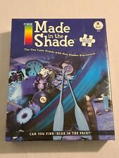 New BePuzzled Made in the Shade 750 Piece Puzzle 18x24 - One Color Blue Puzzle