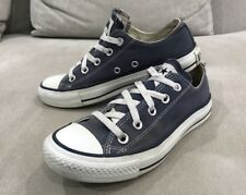 Converse All Star Blue Mens US 4 Womens 6 Authentic Chuck Taylor Shoes Sneakers