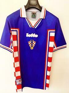 Croatia 1998 VINTAGE RETRO SOCCER FOOTBALL SHIRT JERSEY WORLD CUP TOP