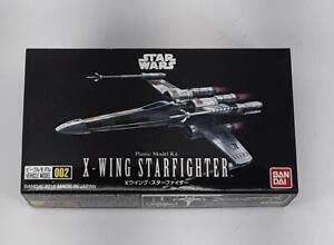 X-WING STARFIGHTER - plastic model kit - Bandai - Star Wars 002 - new