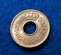 1954 Fiji 1/2 Penny - Beautiful Key Date Coin - Only 228K Minted - SEE PICS^^^