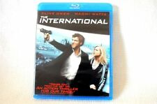 The International Blu-Ray Movie Clive Owen