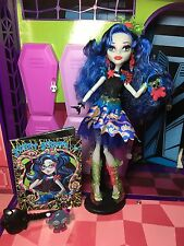 Monster High Doll - Ghoulia Yelps - Sweet Screams & Diary - Great Condition