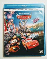 Cars 2 (Blu-ray/DVD, 2011, 5-Disc Set, Includes Digital Copy 3D)