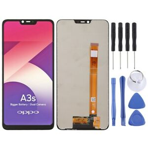 For Oppo Realme 2 LCD Screen Touch Digitizer Replacement Assembly BLACK
