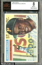 """1956 Topps #33 Roberto Clemente Pirates HOF BVG 8 NM-MT """" Nicely Centered """""""