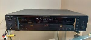 Sony RCD-W1 Dual Disc Drive CD Player Recorder Burner (No Remote) Tested
