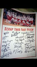 SCRAPYARD FAST PITCH PRO SOFTBALL 2019 TEAM SIGNED FLYER, BAILEY LANDRY, & MORE