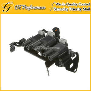 OEM Quality Ignition Coil for 2003-2008 Hyundai Tiburon 2.7L V6, 27301-37118