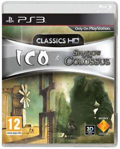 ICO E SHADOW OF THE COLOSSUS PS3 VIDEOGIOCO PLAYSTATION 3 BUNDLE 2 GIOCHI ITA