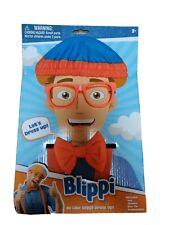 Blippi Roleplay Dress Up Costume Kit Hat Glasses Suspenders Bow Tie Imagination