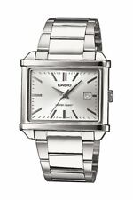 Casio Collection Herrenuhr Edelstahl Silber Analog Datum Quarz MTP-1341D-7AEF