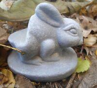 Rabbit pot foot mold plaster cement mould