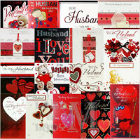 Valentine's Day Card For Husband VALENTINES - Various Designs Available